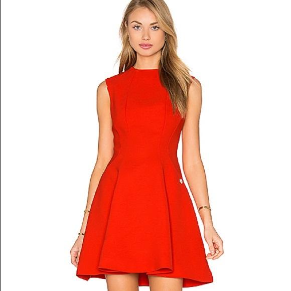 Bronx and Banco Dresses & Skirts - Bronx and Banco Viola Red Mini Dress